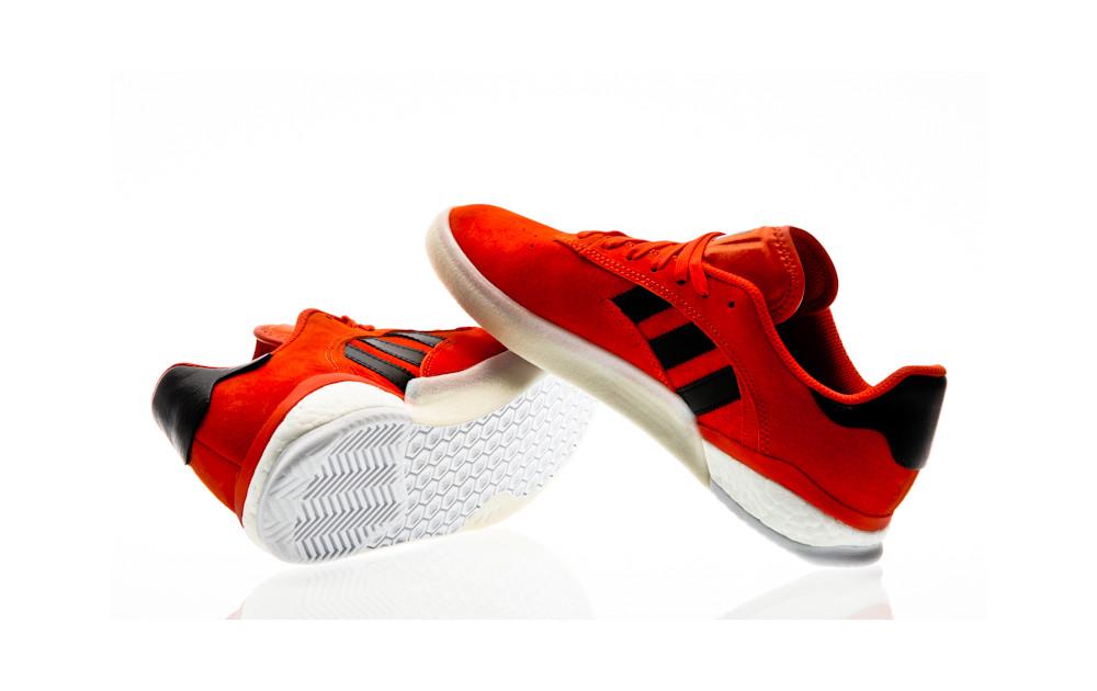 timeless design 44804 c709d ... adidas Skateboarding 3ST.004 collegiate orange-core black-footwear white  ...