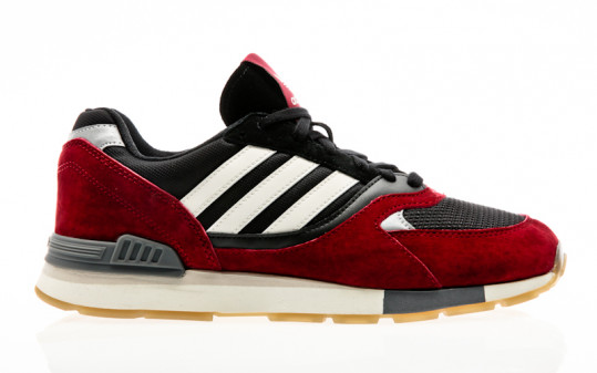 adidas Originals Quesence collegiate burgundy-chalk white-core black