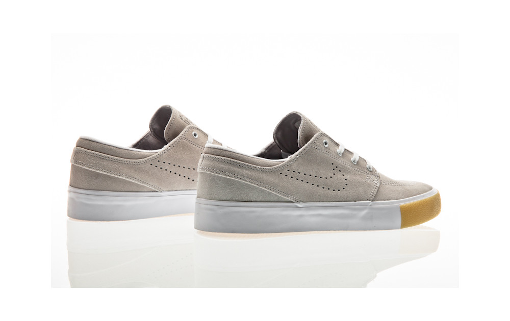 the best attitude b474e 76995 ... Nike SB Zoom Janoski RM SE white-white-vast grey-gum yellow ...