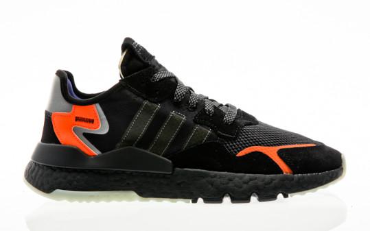 adidas Originals Nite Jogger core black-carbon-active blue