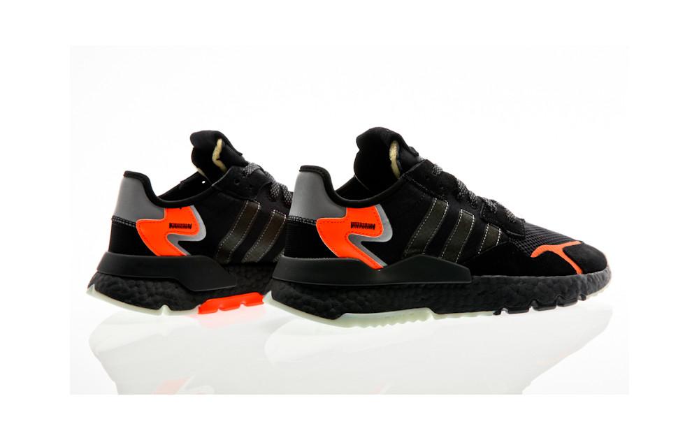 adidas Originals Nite Jogger CG7088 Schwarz | Orange Jungle