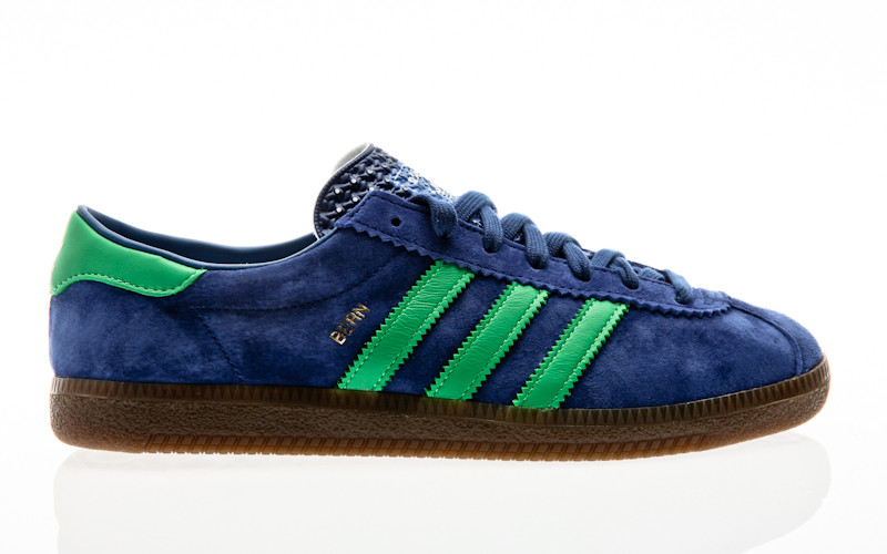 adidas Originals Bern dark blue-semiflash lime-bluebird