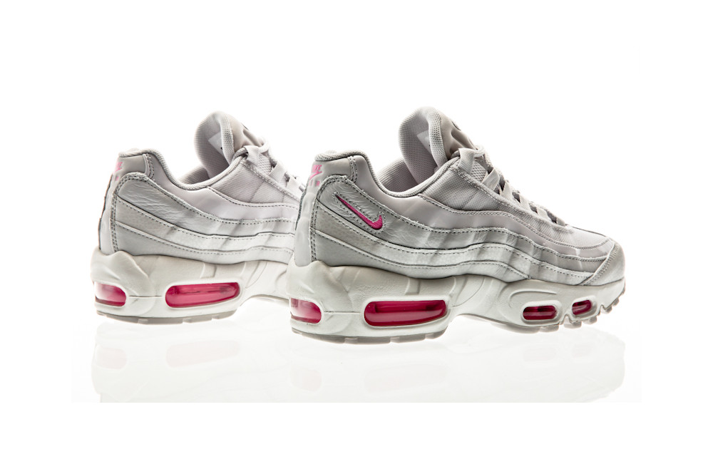 wholesale dealer 21acf 91f5e ... Nike Air Max 95 Special Edition vast grey-psychic pink-summit white ...