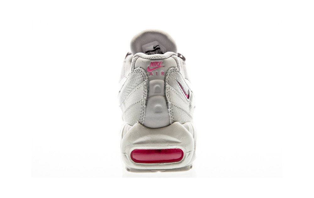 huge discount a2b0b 762cf ... Nike Air Max 95 Special Edition vast grey-psychic pink-summit white