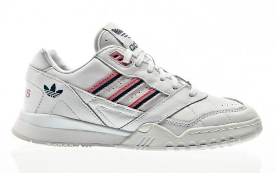 adidas Originals A.R. Trainer W footwear white-true pink-tech mineral