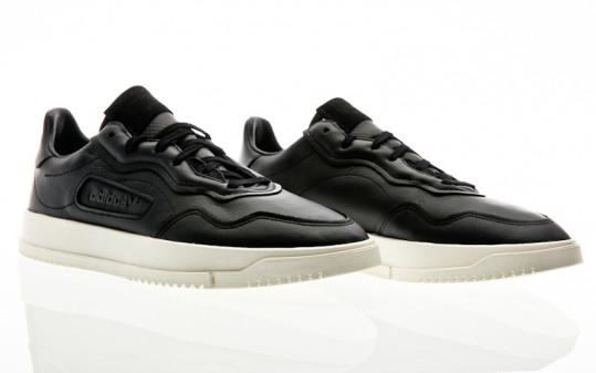 adidas Originals Super Court Premiere core black-chalk white-cloud white