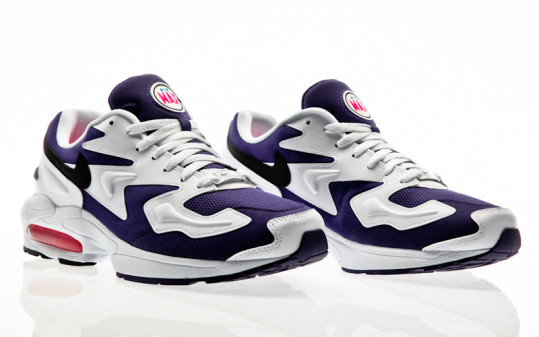 Nike Air Max 2 Light white-black-court purple-hyper pink