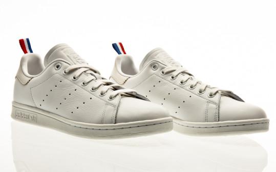 adidas Originals Stan Smith crystal white-footwear white-scarlet
