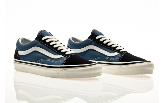 Vans Old Skool 36 Dx (Anaheim Factory) og navy-og stv navy