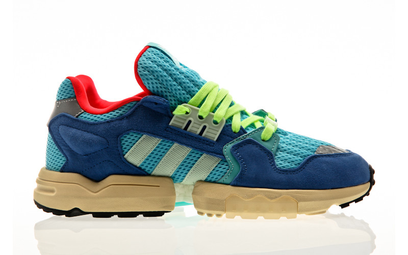adidas Originals ZX Torsion bright cyan-linen green-blue