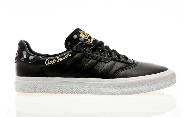 adidas Skateboarding 3MC X Truth Never Told core black-footwear white-matte gold