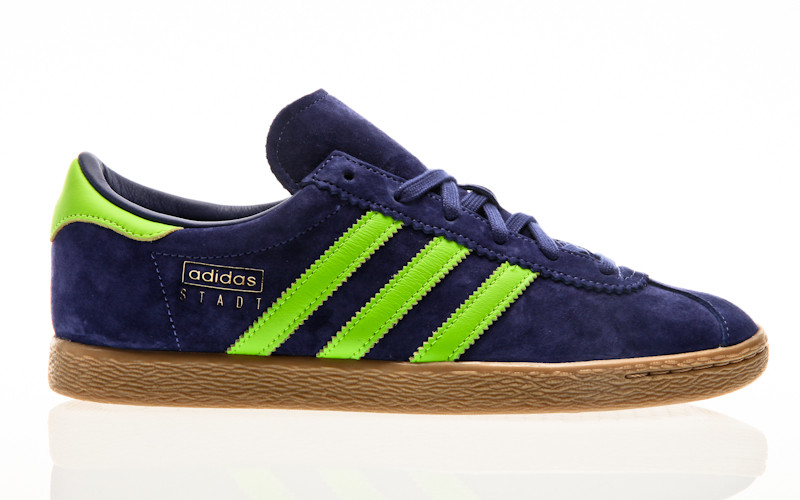 adidas Originals Stadt real purple-solar yellow-gold met-