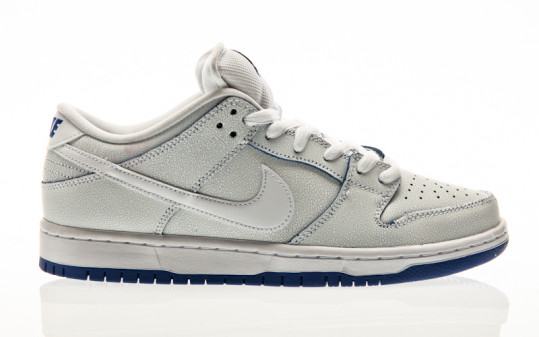 Nike SB Dunk Low Pro Premium white-white-game royal