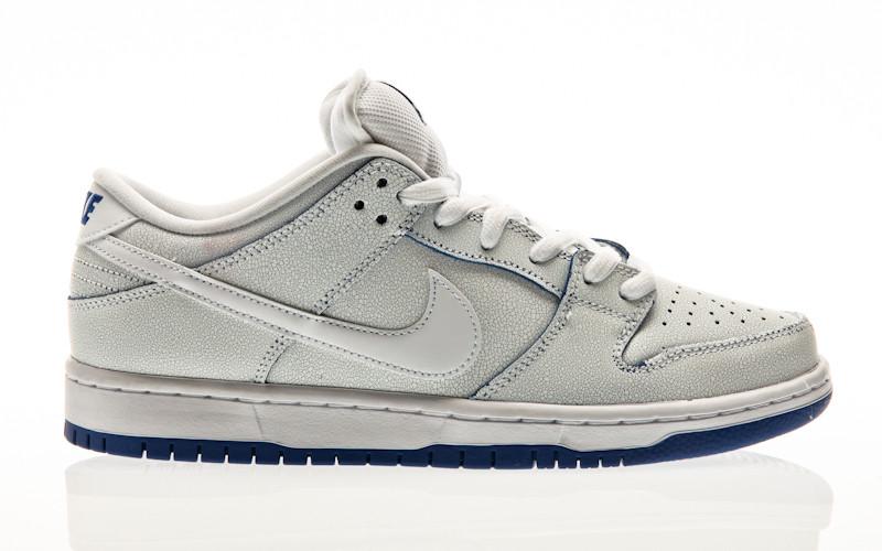 Nike SB Dunk Low Pro Premium white-white-game royal