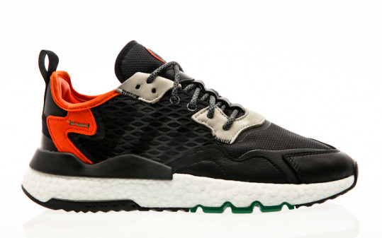 adidas Originals Nite Jogger core black-grey six-orange