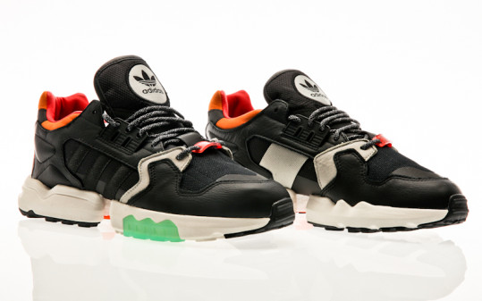 adidas Originals ZX Torsion core black-orange-bold green