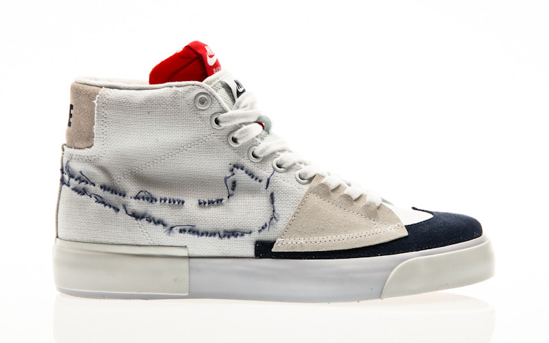 Nike SB Zoom Blazer Mid Edge white-midnight navy-university red