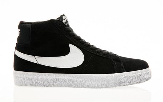 Nike SB Air Zoom Blazer Mid black-white-white-white