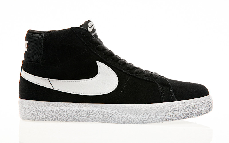 Nike SB Air Zoom Blazer Mid black-white-white-white