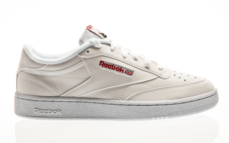 Reebok Club C 85 MU white-skull grey-red-black