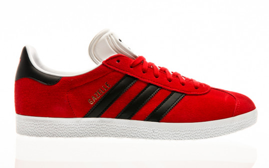 adidas Originals Gazelle scarlet-core black-footwear white