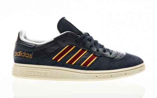 adidas Originals Handball Top night indigo-collegiate burgundy-tribe yellow