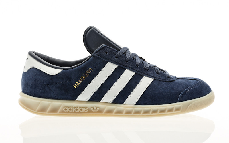 adidas Originals Hamburg tech indigo-footwear white-off white