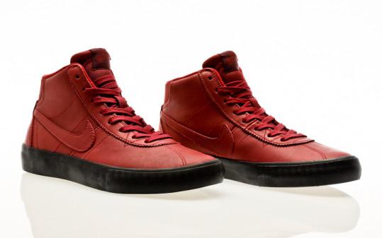 Nike SB Bruin Hi ISO Orange Label team red-night maroon-black