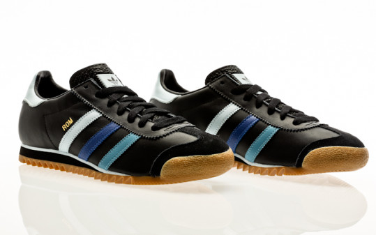 adidas Originals Rom core black-sky tint-team royal blue