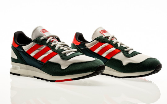 adidas Originals Lowertree collegiate green-cherry red-grey one