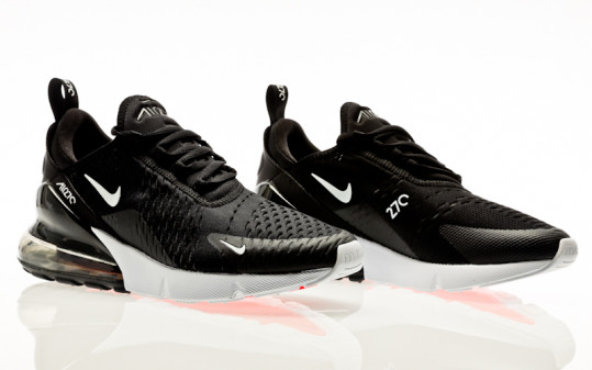 Nike Air Max 270 black-anthracite-white-solar red