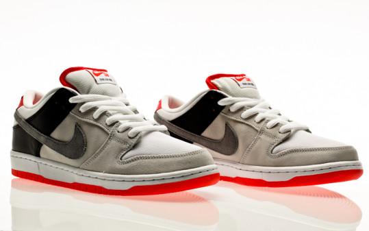 Nike SB Dunk Low Pro ISO Infrared Orange Label neutral grey-cool grey-black-infrared