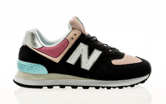 New Balance WL574 SOS black