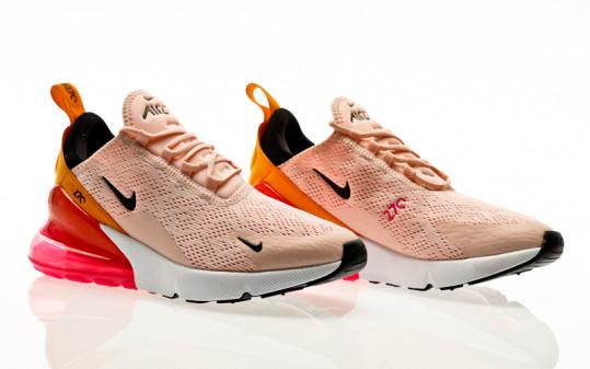 Nike W Air Max 270 washed coral-black-laser fuchsia