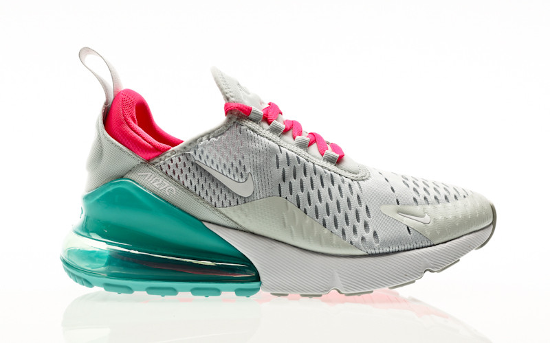 Nike W Air Max 270 pure platinum-white-pink blast
