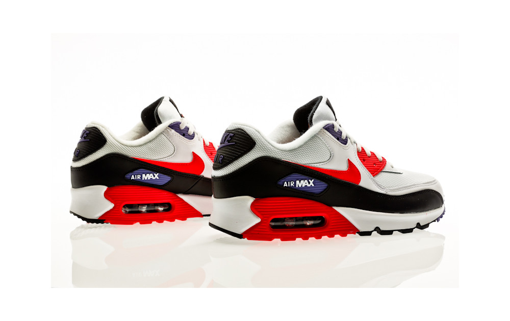 Nike Air Max 90 Essential AJ1285 106 White  Orange Jungle