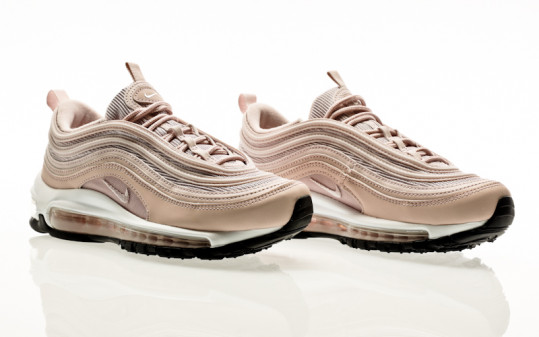 Nike W Air Max 97 barely rose-barely rose-black