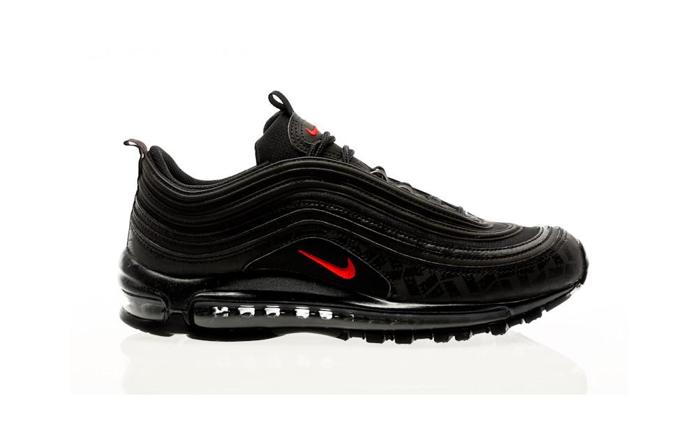 97 air max schwarz rot