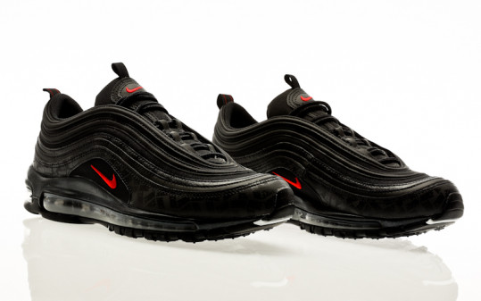 Nike Air Max 97 black-university red-black