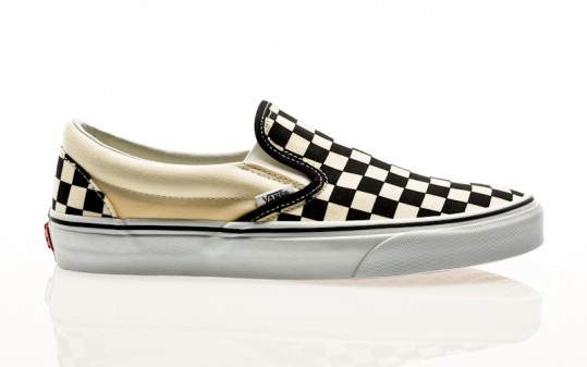 Vans Classic Slip-On black & white checkerboard-white