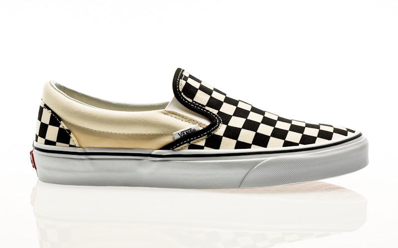 Vans Classic Slip-On black & white checkerboard-white