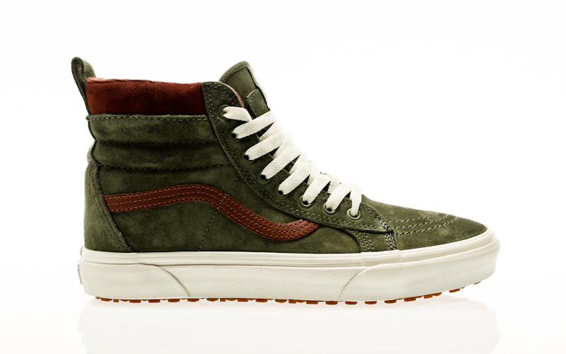 Vans Men SK8 Hi MTE DX (green dark gum) | Sneakers mode