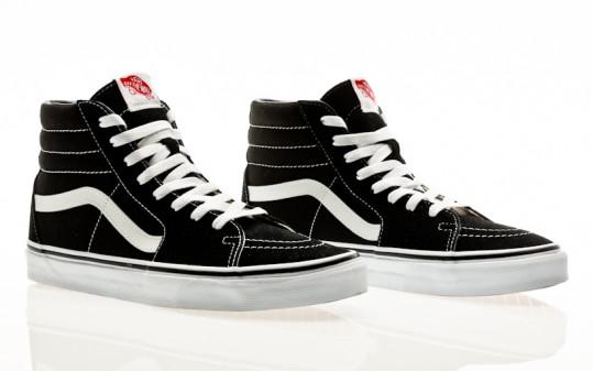 Vans Sk8-Hi black-black-White