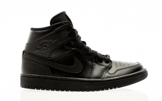 Nike Air Jordan 1 Mid black-black-black