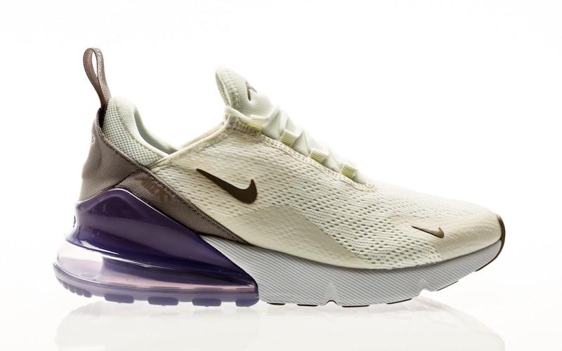 Nike Air Max 270 sail-pumice-space purple-white