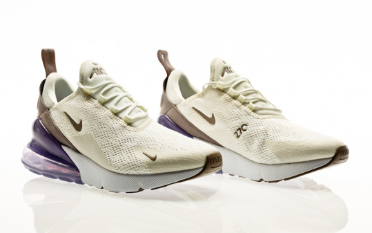 Nike Air Max 270 sail-pumice-space purple-white