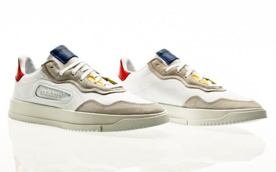 adidas originals SC Premiere footwear white-footwear white-glory red