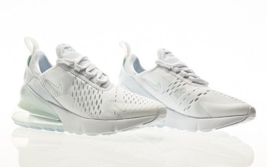 Nike Air Max 270 white-white-metallic silver