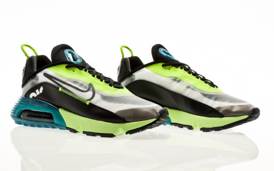 Nike Air Max 2090 white-black-volt-valerian blue