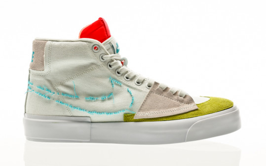 Nike SB Zoom Blazer Mid Edge summit white-oracle aqua-summit white